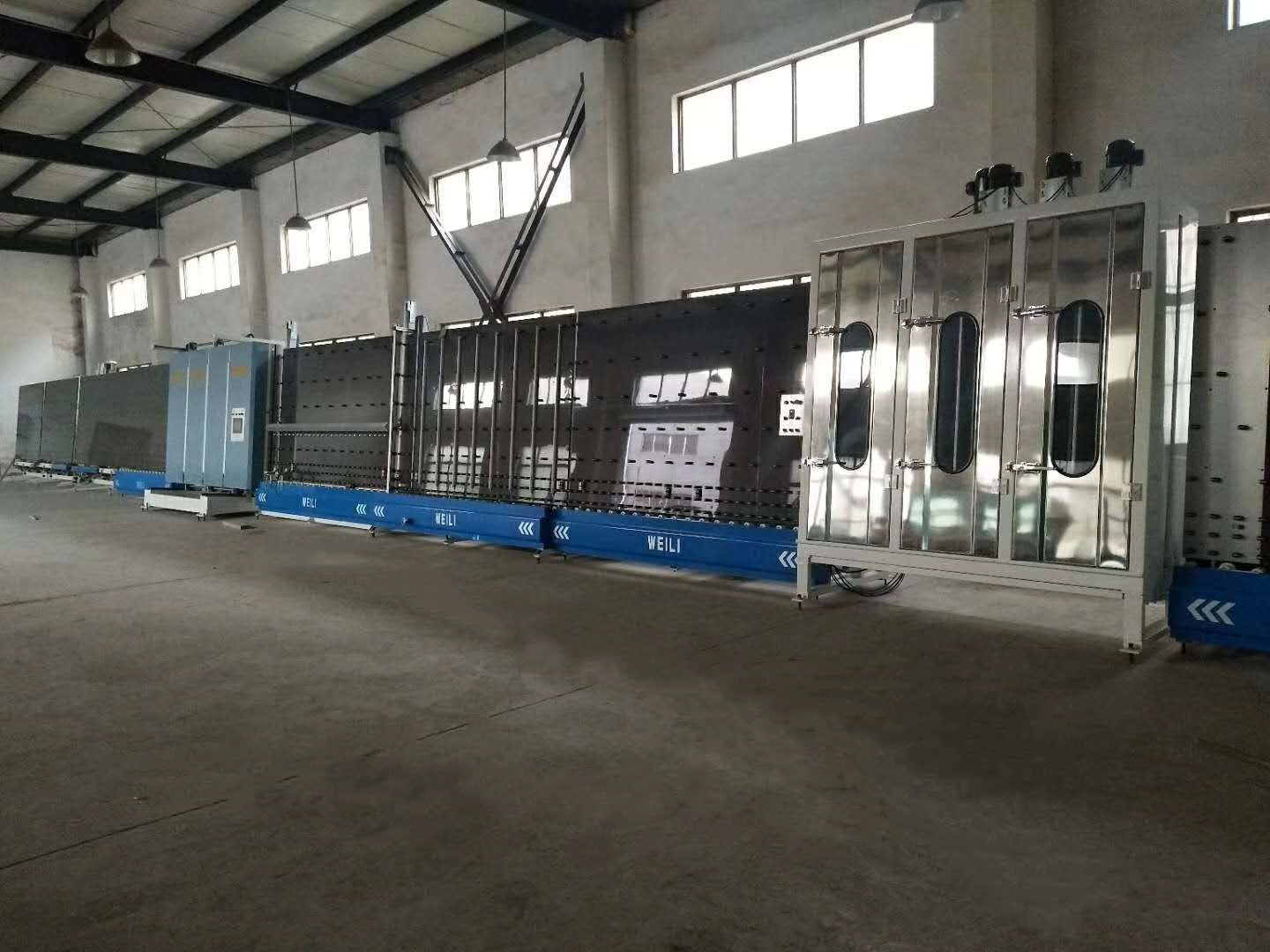 2500mm Vertical Insulating Glass Line For Making Shape Doubel Glazing And Step Glazing